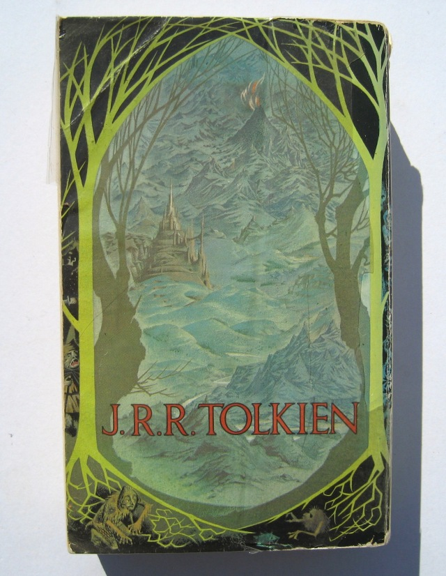 LOTR Yellow back