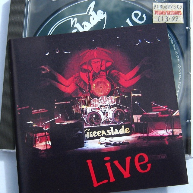 Greenslade Live CD