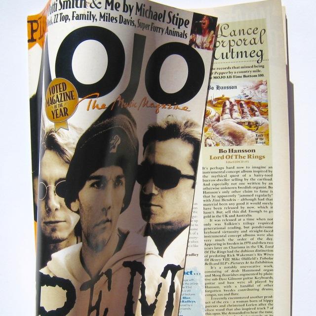 Mojo magazine - Bo Hansson