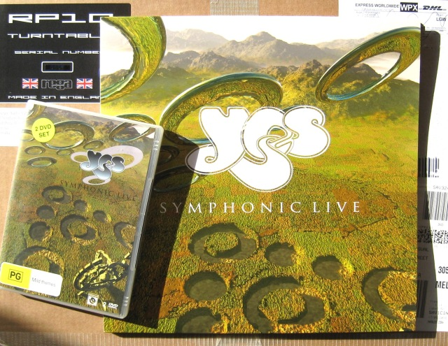 Yes - Symphonic Live LP DVD