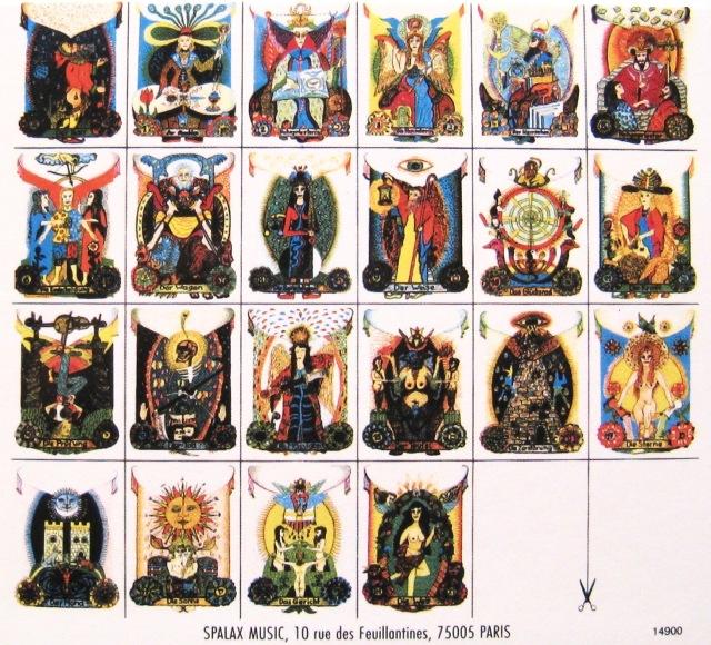Wegmuller Tarot Cards