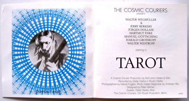 Wegmuller Tarot CD booklet
