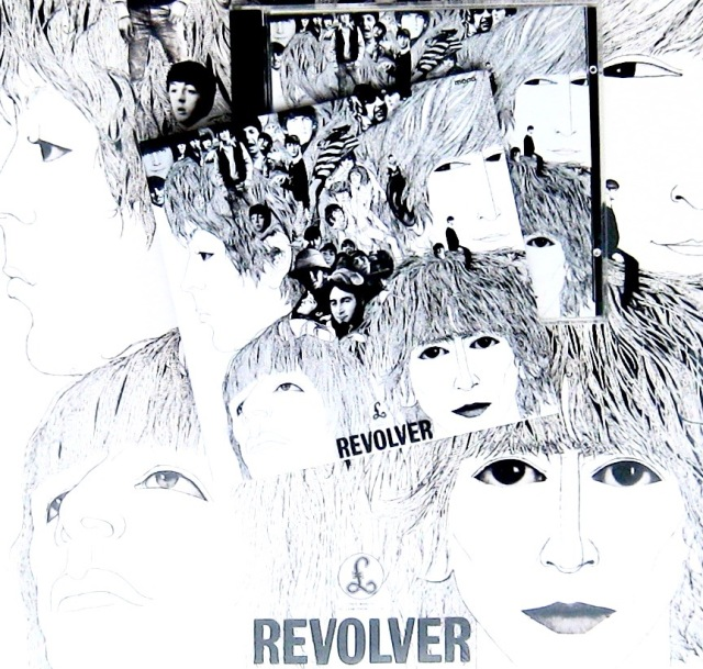 Beatles Revolver front