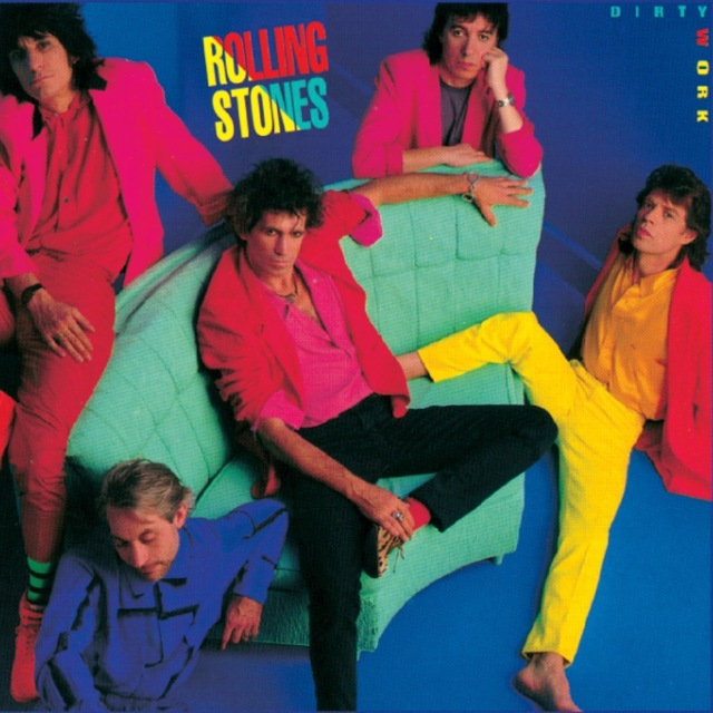 Rolling Stones 80s Dirty Work