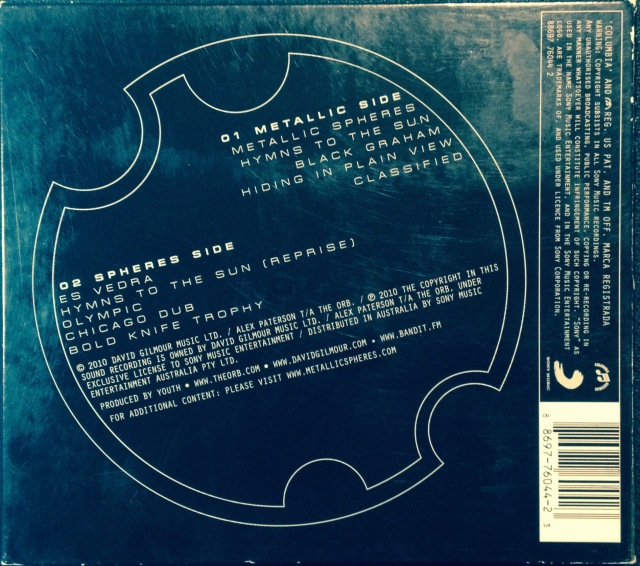 Orb-Gilmour back cover