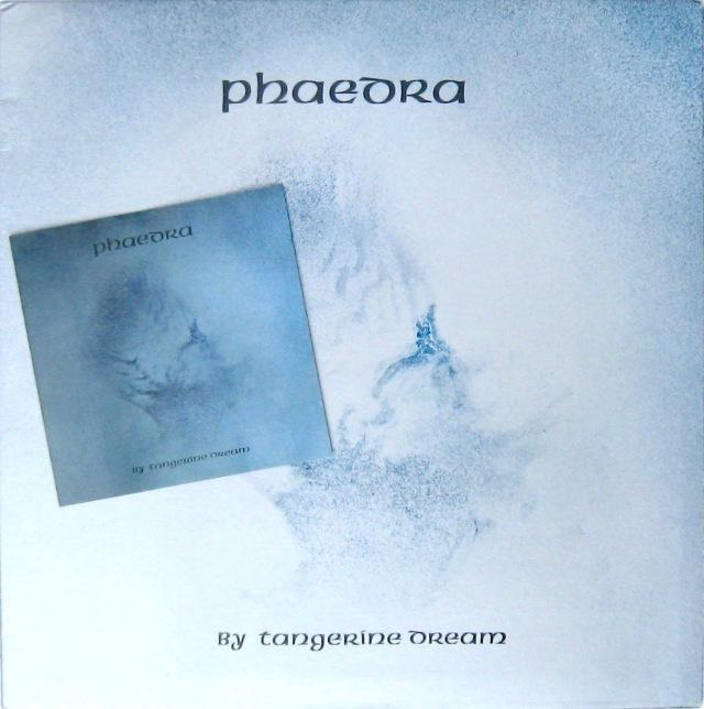 Tangerine Dream Phaedra LP CD