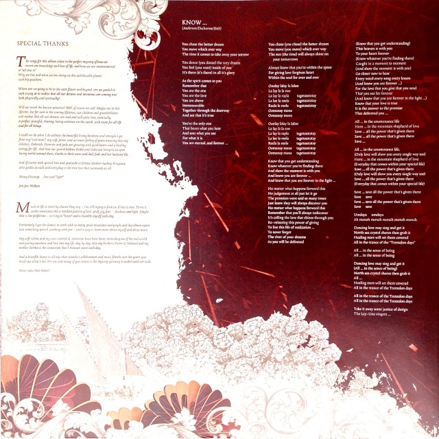 Invention of Knowledge Inner sleeve