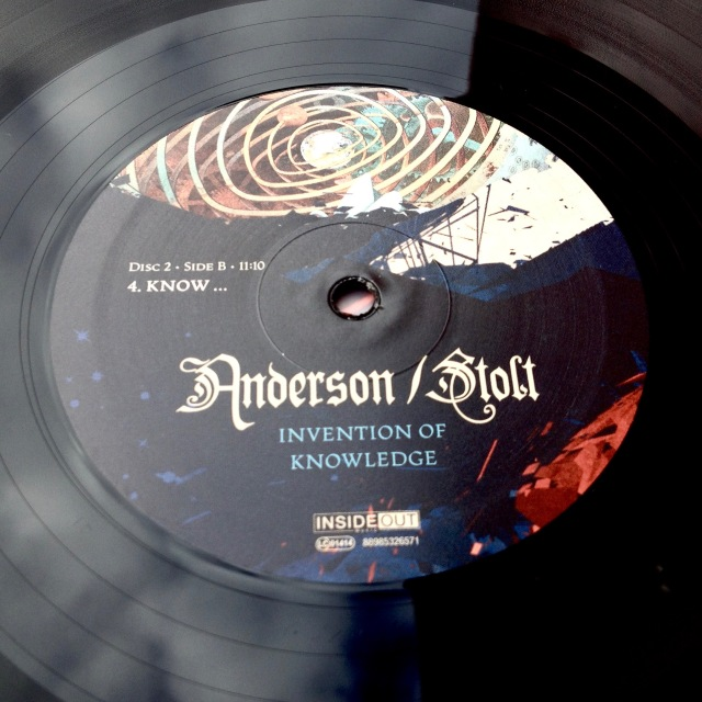 Anderson Stolt vinyl label