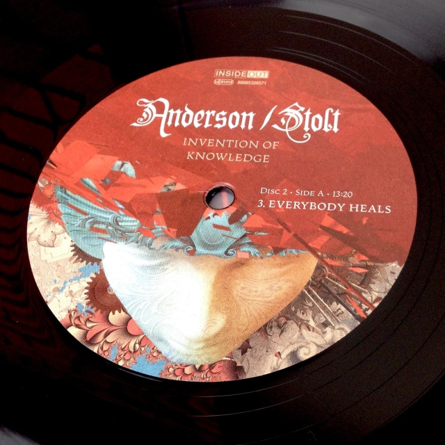 Invention of Knowledge vinyl