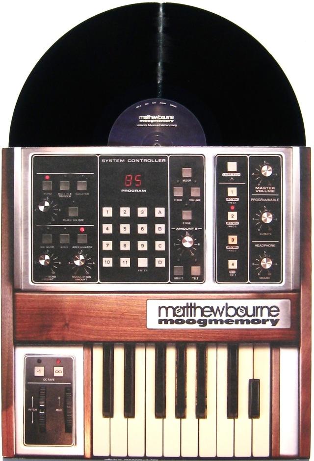 Matthew Bourne - Moogmemory LP