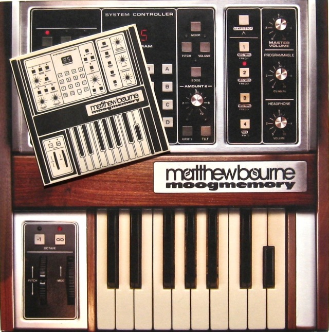 Matthew Bourne Moogmemory LP+CD