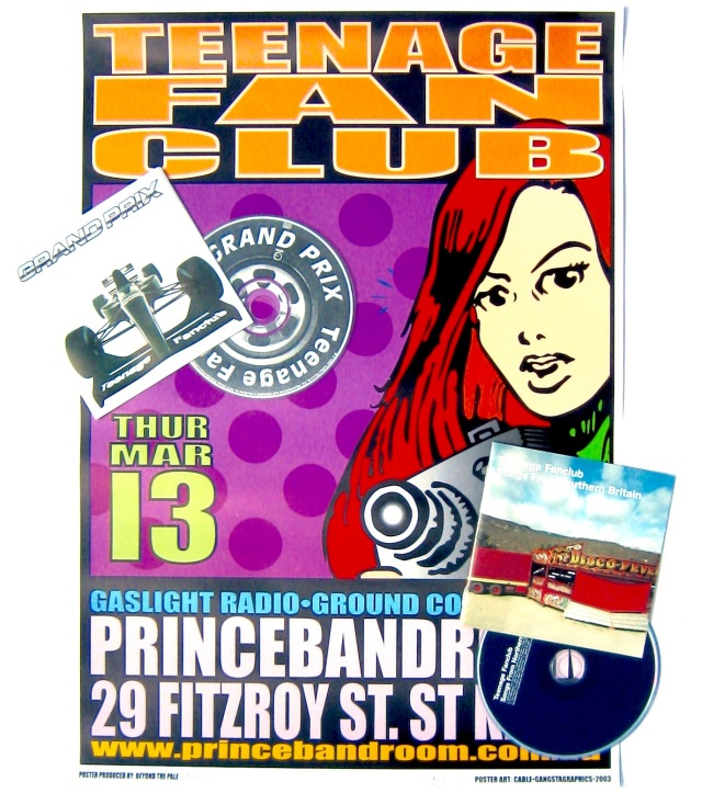 Teenage Fanclub poster 2003