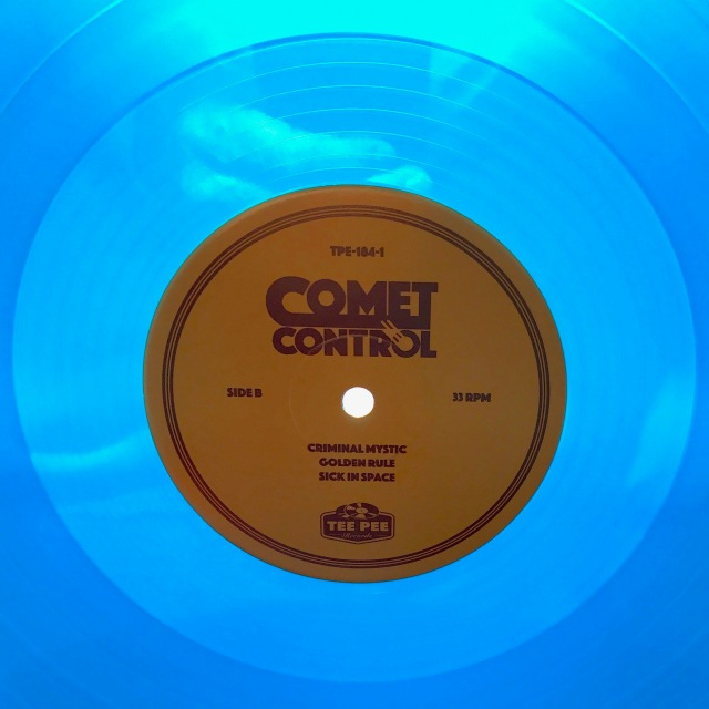 Comet Control Center Maze blue vinyl