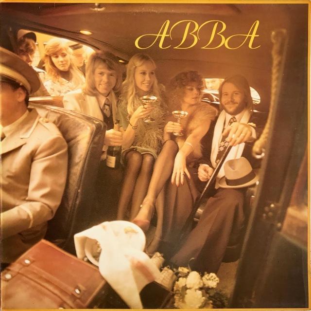 ABBA - Abba LP front