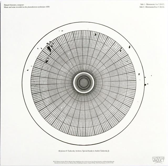 Solaris vinyl Back cover