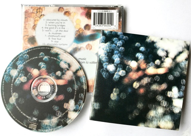 Pink Floyd La Vallee CD