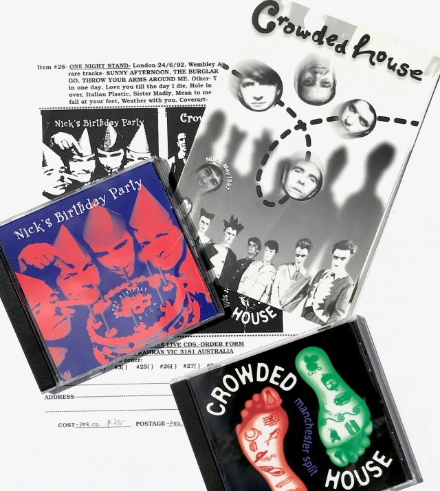 Crowded House Live CDs