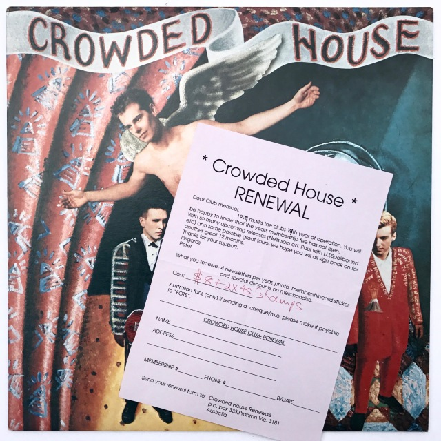 Crowded House first album