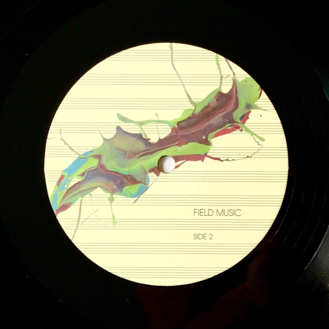 Field Music Measure LP label