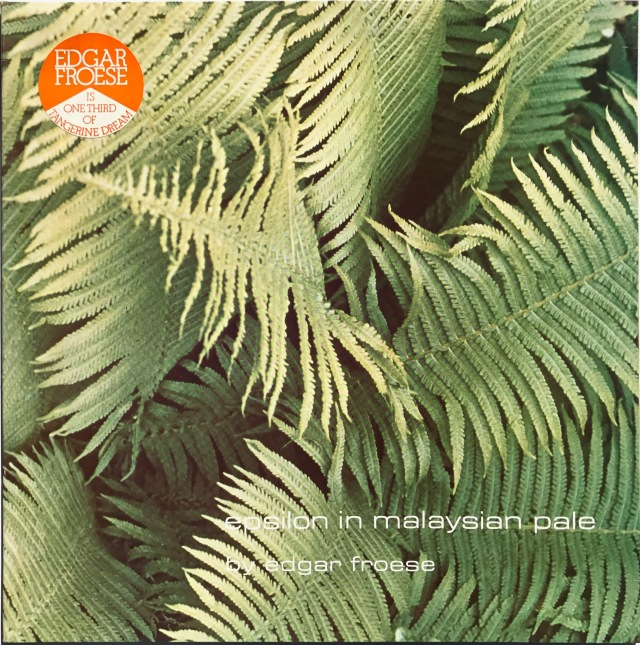 Edgar Froese - Epsilon Malaysian Pale LP