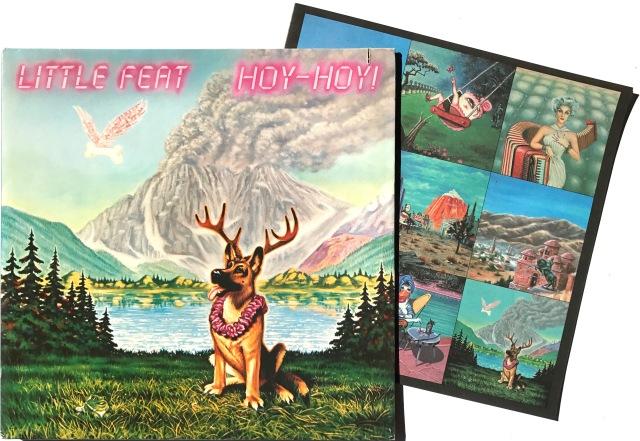 Little Feat Hoy Hoy 1981 2 LP