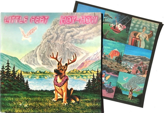 Little Feat Hoy Hoy 1981 2 LP