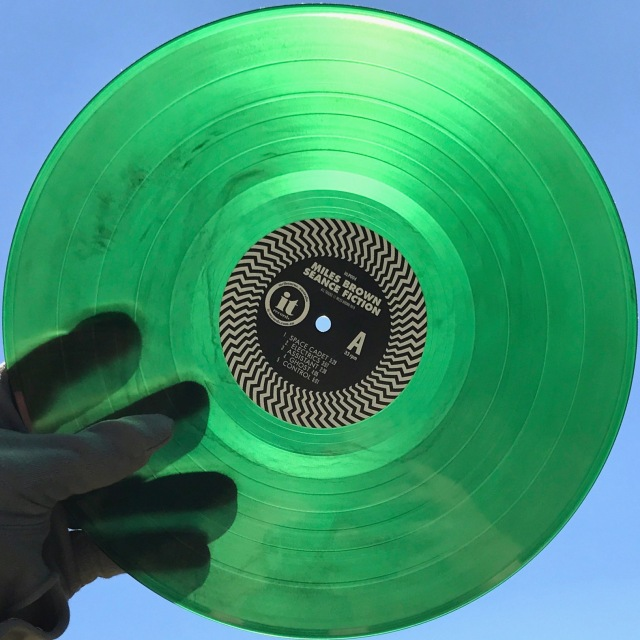 Seance Fiction green vinyl
