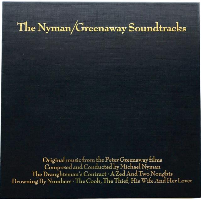Nyman / Greenaway Soundtrack Box Set