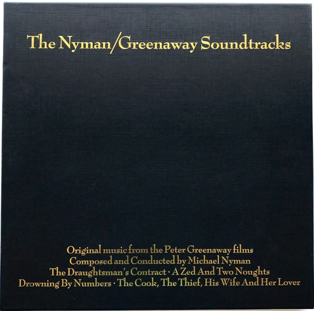 Nyman / Greenaway Soundtrack Box Set