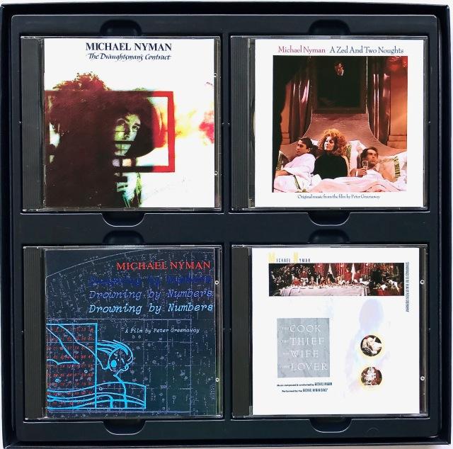 Michael Nyman - Greenaway Soundtracks CD Box
