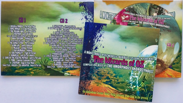 Wizards of Oz psychedelic CD