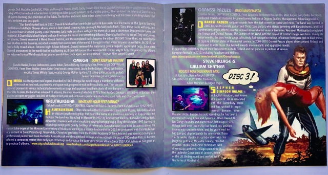 Space Rock - booklet
