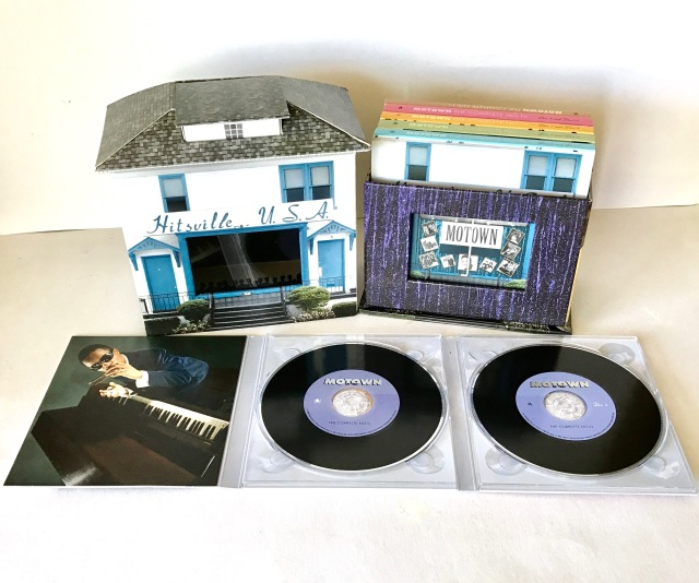 Motown CD Box Hitsville USA