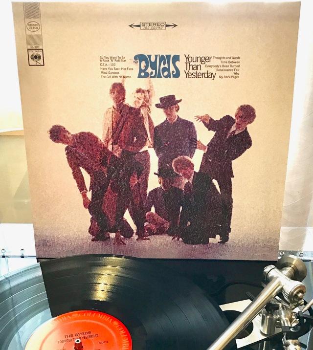 Byrds Younger Yesterday vinyl
