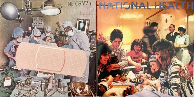 Medical album covers