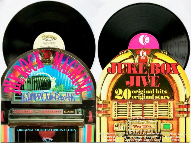 Various Artists Jukebox cover LPs