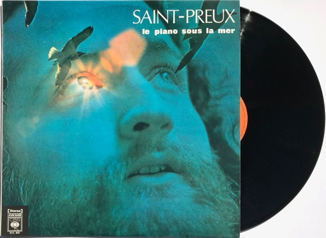 Saint-Preux le piano sous la mer LP
