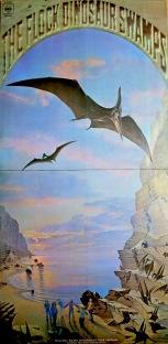 Flock Dinosaur Swamps LP gatefold