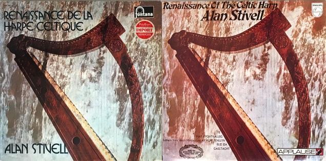Alan Stivell Renaissance Celtic Harp LP