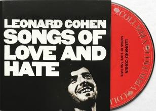 Leonard Cohern Songs Love Hate